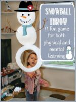 Indoor Snowball Throwing : Great for Parties or Learning!