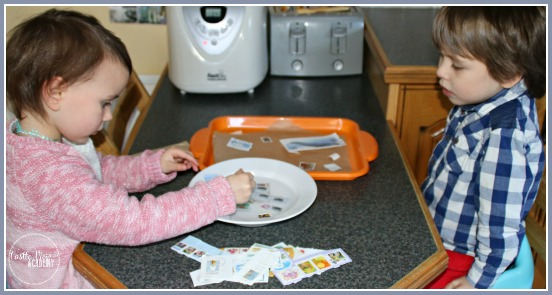 Stamp collecting is great for fine motor skills