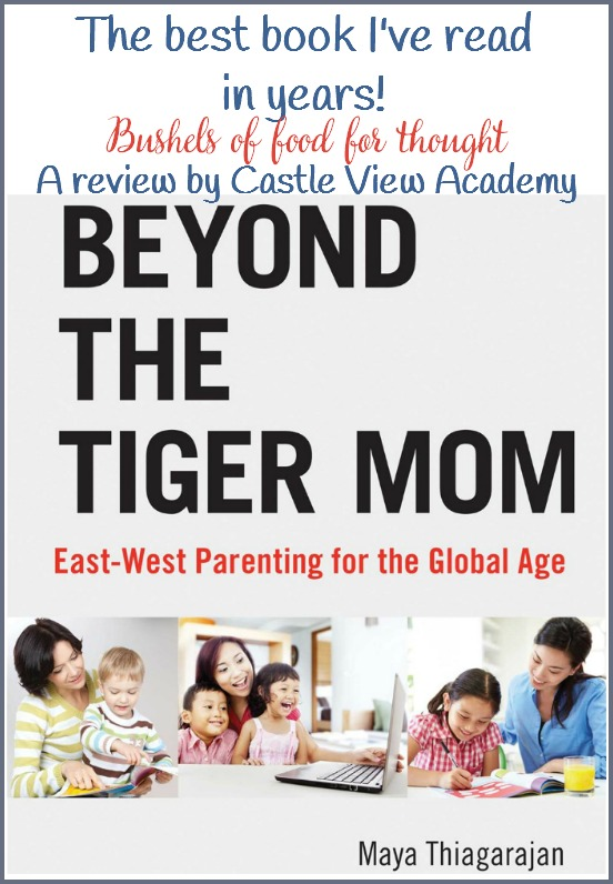 A review of Beyond The Tiger Mom by CastleViewAcademy, The best parenting book I've read in years!