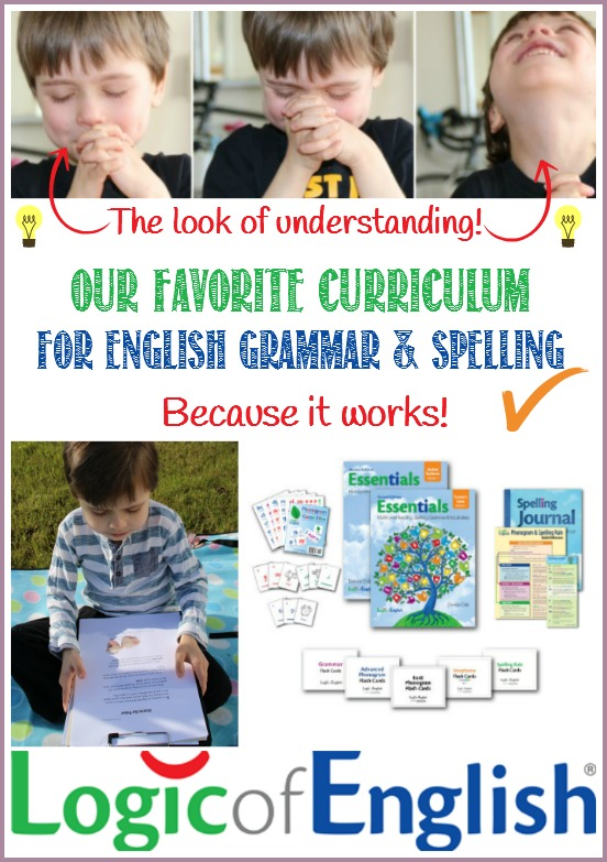 Logic of English Essentials 2nd Edition is our favourite homeschool English curriculum for grammar and spelling....because it WORKS! Watch the lightbulb moments happen with CastleViewAcademy