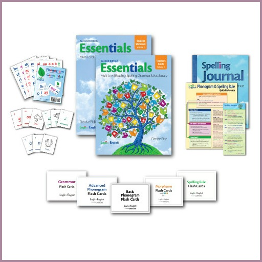 Logic of English second edition contents