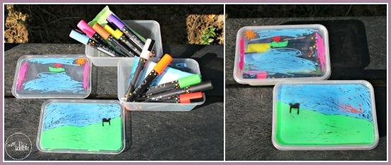 Make a DIY travel art kit in 2 minutes and keep the kids happy for hours