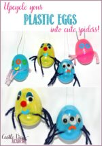 Plastic Egg Spiders