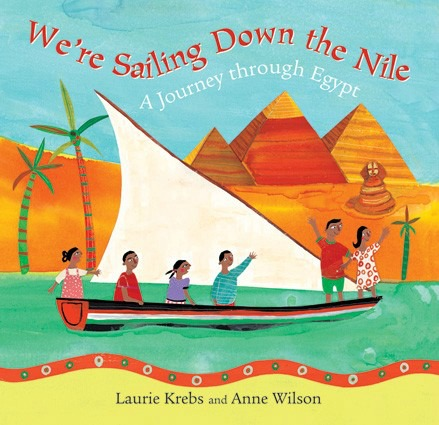 We're Sailing Down The Nile is a great book for children with lot of opportunity for enrichment activities