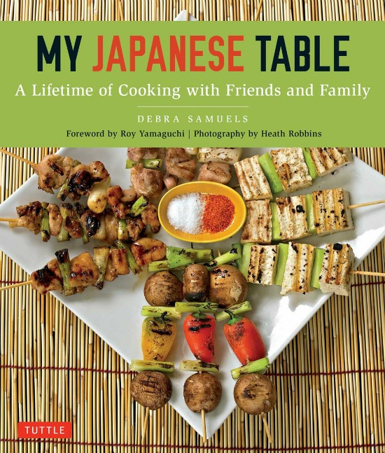 My Japanese Table by Debra Samuels and Tuttle Publishing, a Review by Castle View Academy