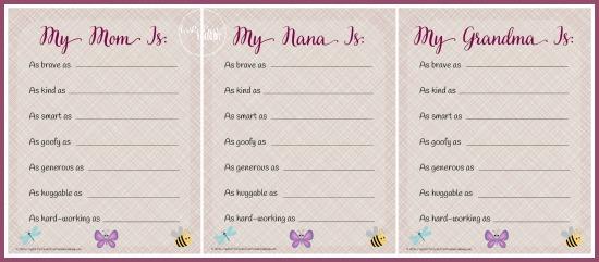 My Mom Is poem