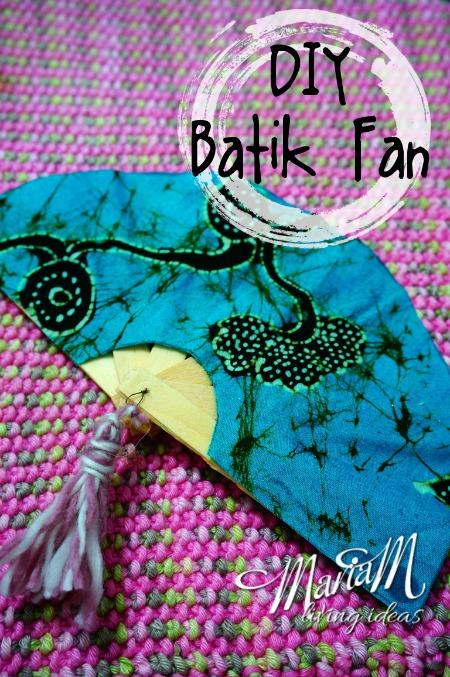 batik fan from Indonesia