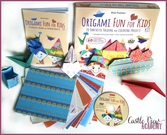 Origami Fun For Kids was greatly enjoyed by the kids of Castle View Academy