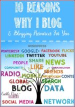 10 Reasons Why I Blog (& Some Blogging Resources For You)