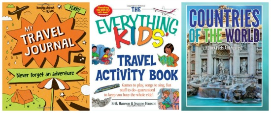 Travel activity books for kids chosen by Castle View Academy