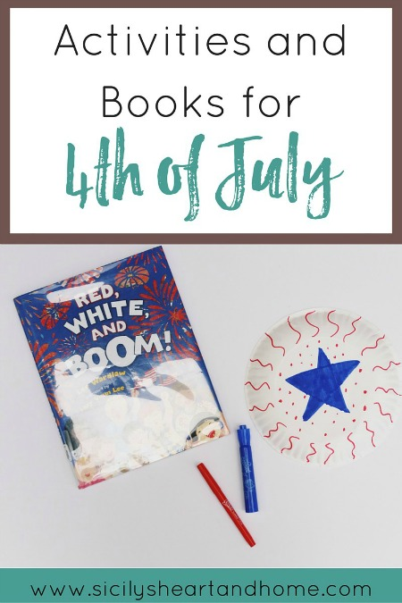 4th of July books and activities
