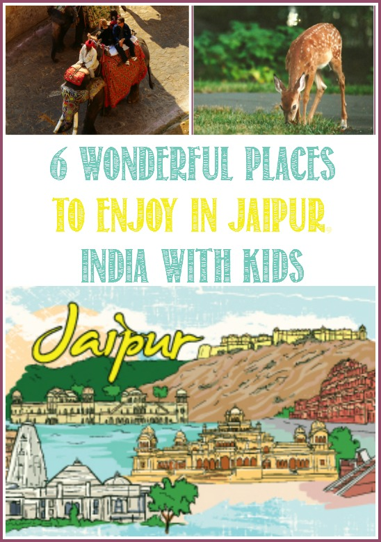 6 Wonderful Places to Enjoy in Jaipu, Indiar With Kids