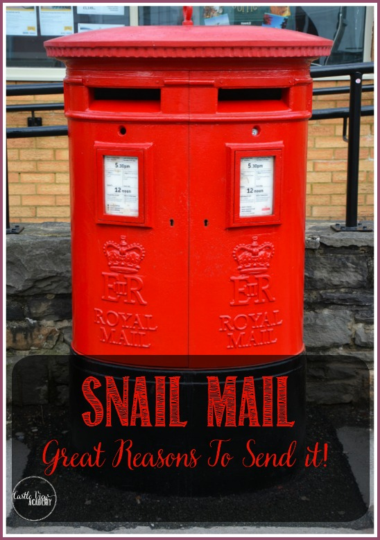 7 Great reasons to send snail mail from Castle View Academy