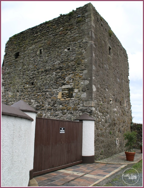 A middle ages castle tower in Northern Ireland by Castle View Academy