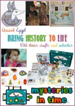 Bring history to life through stories, crafts, and activities by Mysteries in Time; a review by Castle View Academy