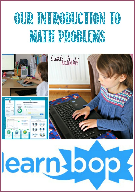 Castle View Academy's introduction to Math Problems with LearnBop