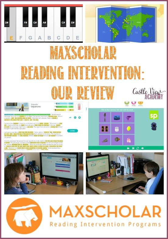 Castle View Academy's review of MaxScholar Reading Intervention Program MaxGuru