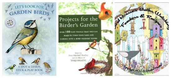 Garden bird books for kids recommended by Castle View Academy