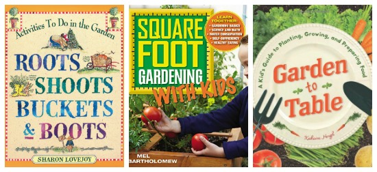 Gardening wtih kids books recommended by Castle View Academy