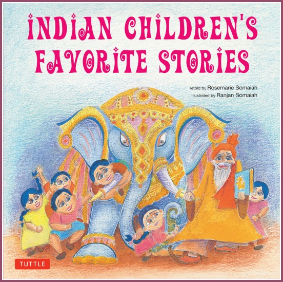 Indian Children's Favorite Stories by Tuttle Publishing and reviewed by Castle View Academy