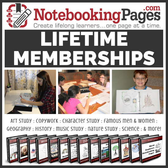 Notebooking Pages lifetime member