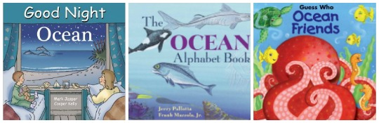 Ocean picture books for kids at Castle View Academy