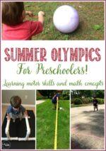 Summer Olympics For Preschoolers