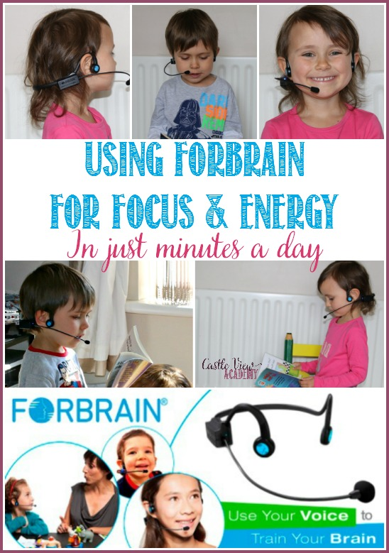 Using Forbrain For Focus and Energy in just minutes a day at Castle View Academy. Forbrain is a technology that can be used for for speech and language difficulties, brain stimulation, auditory processing disorder, reading difficulties, ADD ; ADHD, improving speech, improving attention,, and more