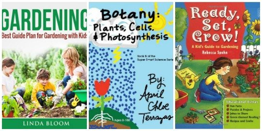 botany for kids, gardening with kids