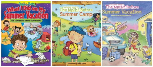summer vacation books for kids