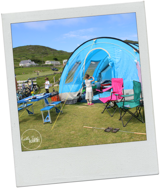 A friendly campsite with CAstle View Academy with Castle View Academy