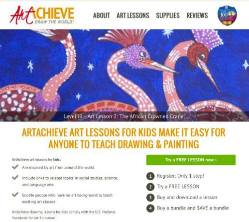 ArtAchieve making it easy to learn drawing