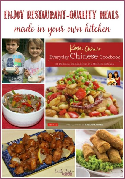Enjoy restaurant-quality meals made in your own kitchen with Katie Chin's Everyday Chinese Cookbook; a review by Castle View Academy