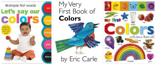 First Book of colors at Castle View Academy
