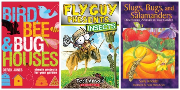 Insect books for kids at Castle View Academy.com