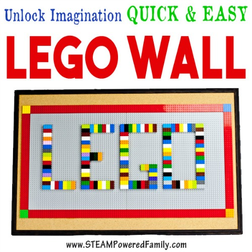 Lego Wall Square