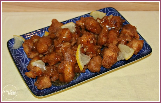Lemon Chicken from Katie Chin's Everyday Chinese Cookbook at Castle View Academy