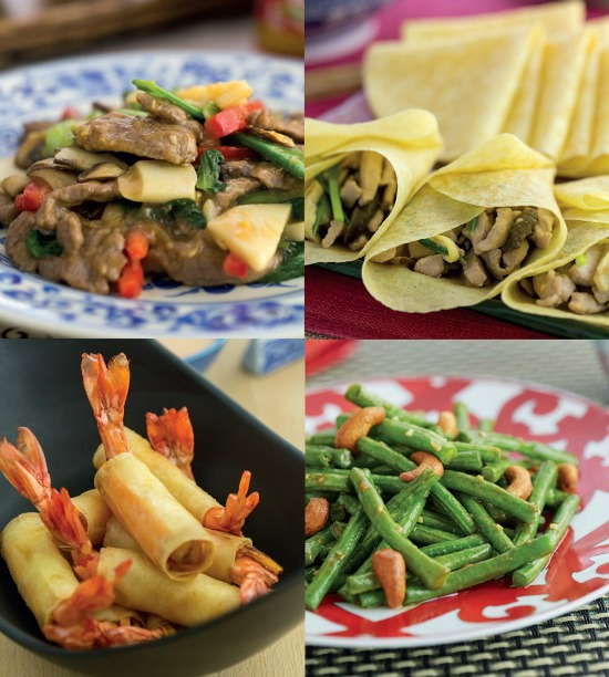 Recipes from Katie Chin's Everyday Chinese Cookbook at Castle View Academy