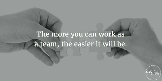 The more you can work as a team, the easier it will be for the family. Learn about parenting styles at Castle View Academy