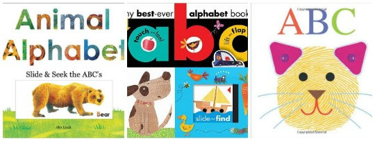 alphabet board books for kids at Castle View Academy