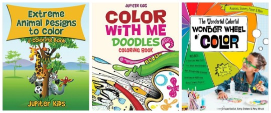 coloring books for kids at Castle View Academy