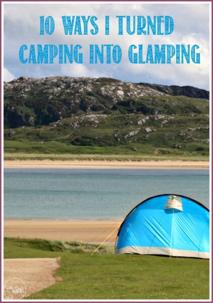 10 Ways I Tried To Turn Camping Into Glamping at Castle View Academy