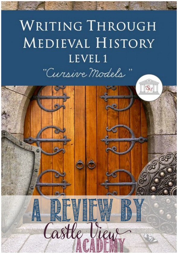 A review of Writing Through Medieval History, Level 1 from Brookdale House by Castle View Academy