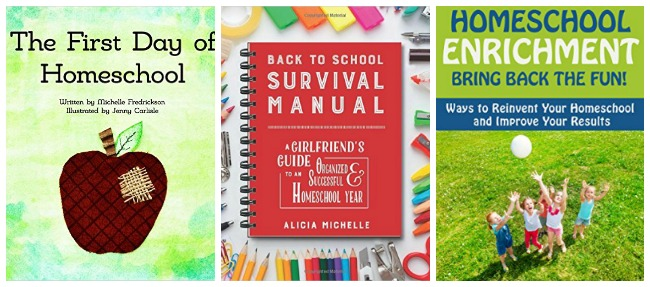 Back To Homeschool books at Castle View Academy