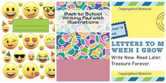Back to school notebooks at Castle View Academy