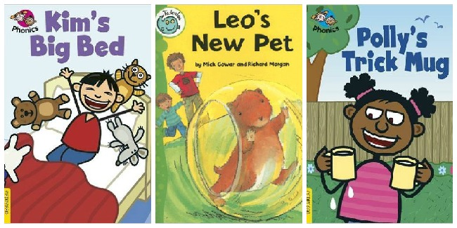 Books for beginning readers at Castle View Academy
