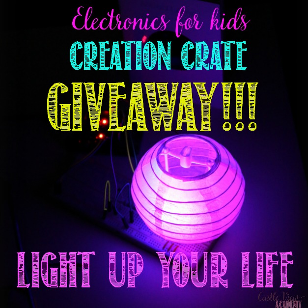 Creation Crate Giveaway at Castle View Academy