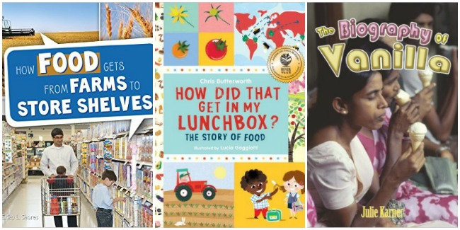 From farm to table, the story of food with books and Castle View Academy