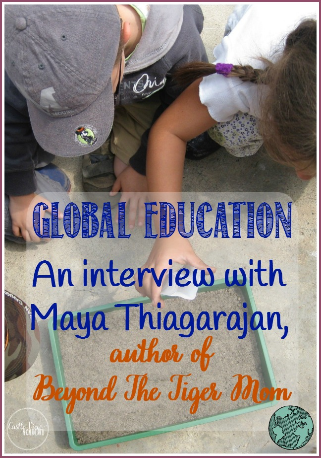 Global Education; Author Interview With Maya Thiagarajan at Castle View Academy