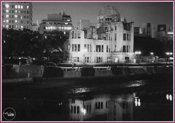 Hiroshima A-Bomb dome by Castle View Academy